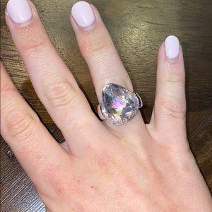 Swarovski Gorgeous Light Pink Ring